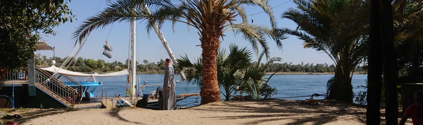 Pause am Nil