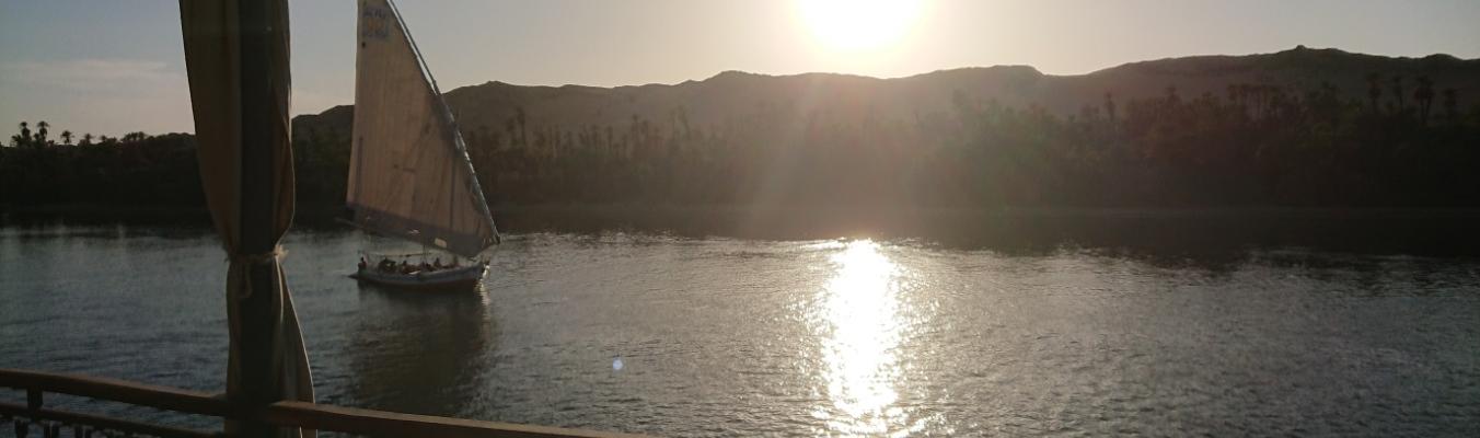 Nil bei Luxor