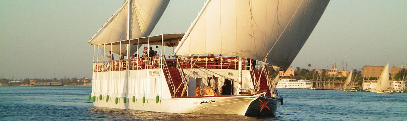 Unterwegs auf dem Nil